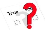 Checklist - True or False
